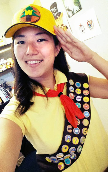 finished wilderness explorer costume