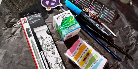 art supplies for inktober
